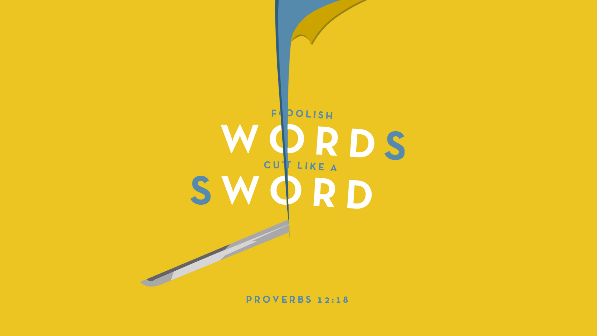 James: Foolish Words Cut Like a Sword